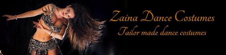 Zaina dance costume – Designer belly dance costumes